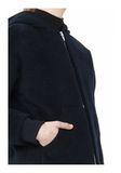 T by ALEXANDER WANG MOAHIR ALPACA WOOL FELT HOODED JACKET Jacket Adult 8_n_a