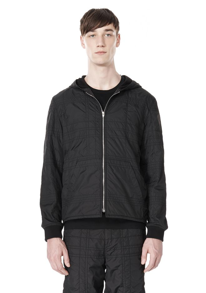 ALEXANDER WANG KANGAROO POCKET HOODIE Jacket Adult 12_n_e