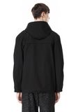 T by ALEXANDER WANG LAMINATED TROPICAL HOODED ANORAK JACKETS AND OUTERWEAR  Adult 8_n_d