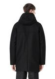 T by ALEXANDER WANG WOOL NYLON FELT & MESH COMBO DUFFEL COAT JACKETS AND OUTERWEAR  Adult 8_n_d
