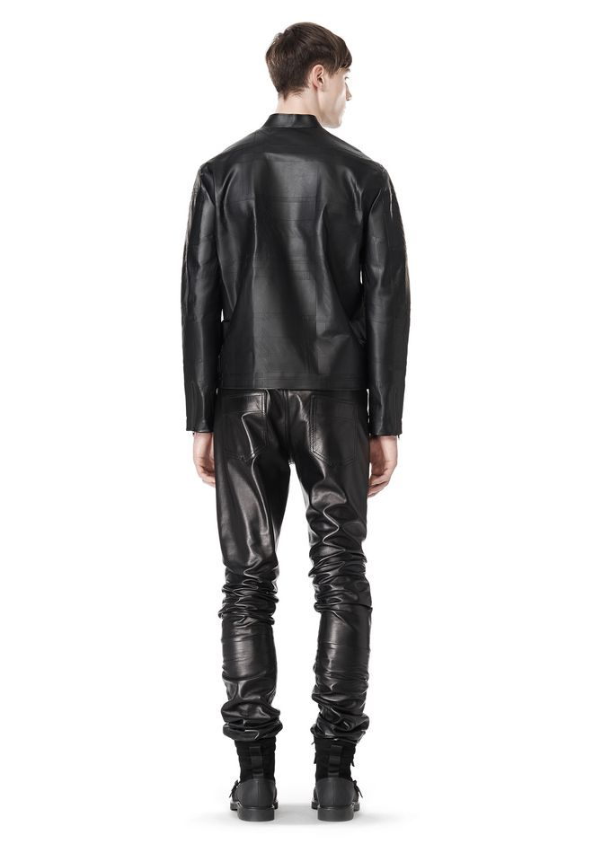 ALEXANDER WANG LASER CUT BONDED BOMBER JACKETS AND OUTERWEAR  Adult 12_n_r