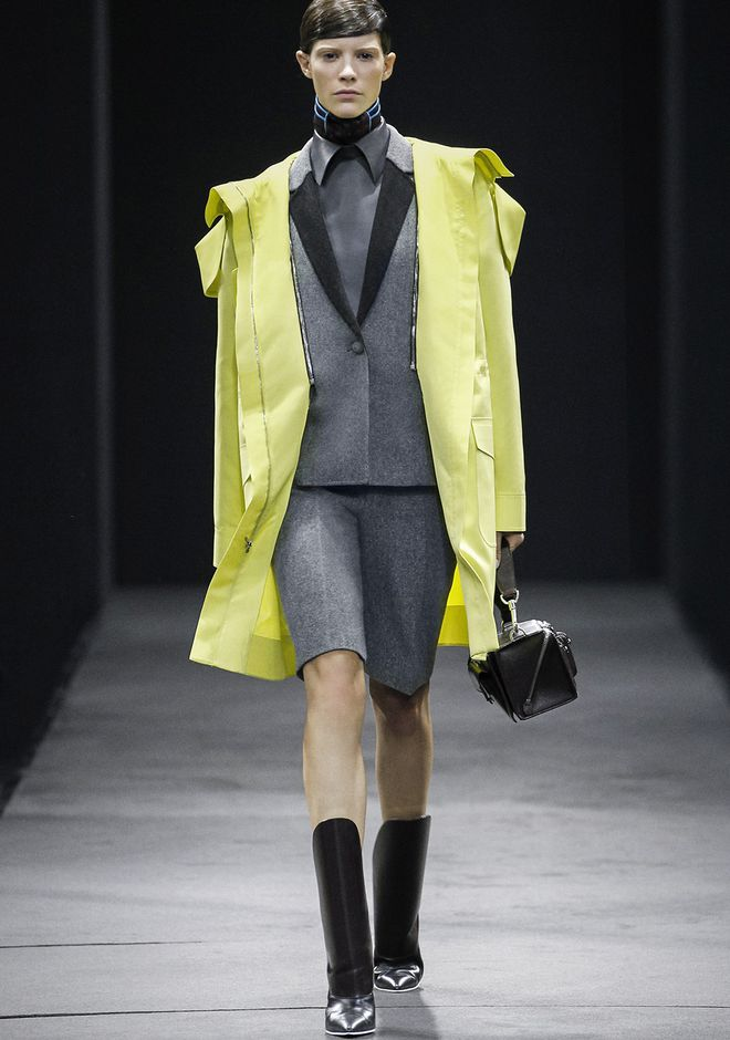 ALEXANDER WANG WELDED OVERSIZED PARKA WITH CONNECTED BLAZER PARKA Adult 12_n_a