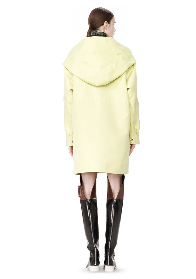 ALEXANDER WANG WELDED OVERSIZED PARKA WITH CONNECTED BLAZER PARKA Adult 12_n_e