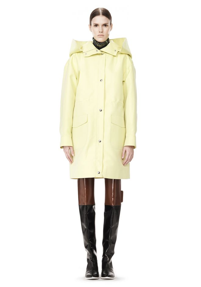 ALEXANDER WANG WELDED OVERSIZED PARKA WITH CONNECTED BLAZER PARKA Adult 12_n_f