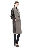 T by ALEXANDER WANG DONEGAL & NYLON QUILTED COMBO REVERSIBLE COAT JACKETS AND OUTERWEAR  Adult 8_n_e