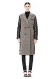T by ALEXANDER WANG DONEGAL & NYLON QUILTED COMBO REVERSIBLE COAT JACKETS AND OUTERWEAR  Adult 8_n_f
