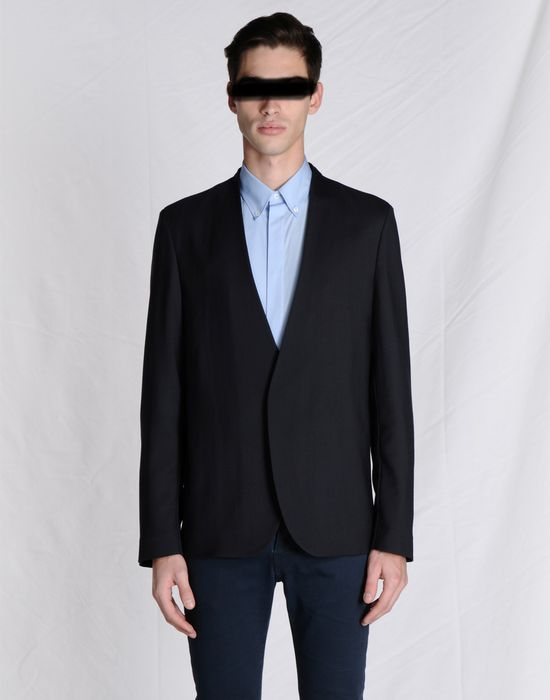 Clearance Classic Maison Margiela Collarless Sport Coat Cheap Sale Cheapest Recommend Cheap Online Shop For Online chc5iC