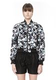 ALEXANDER WANG BOMBER WITH WEBBING DETAIL Jacket Adult 8_n_e