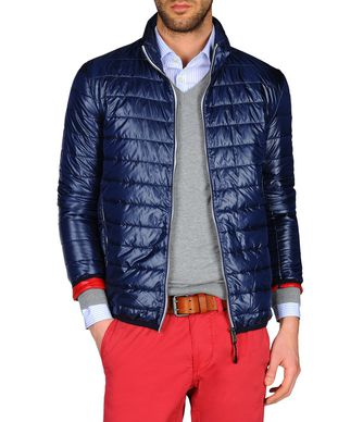 NAPAPIJRI ACALMAR MAN PADDED JACKET,DARK BLUE