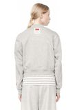 T by ALEXANDER WANG BONDED FLEECE BOMBER JACKET JACKETS AND OUTERWEAR  Adult 8_n_d