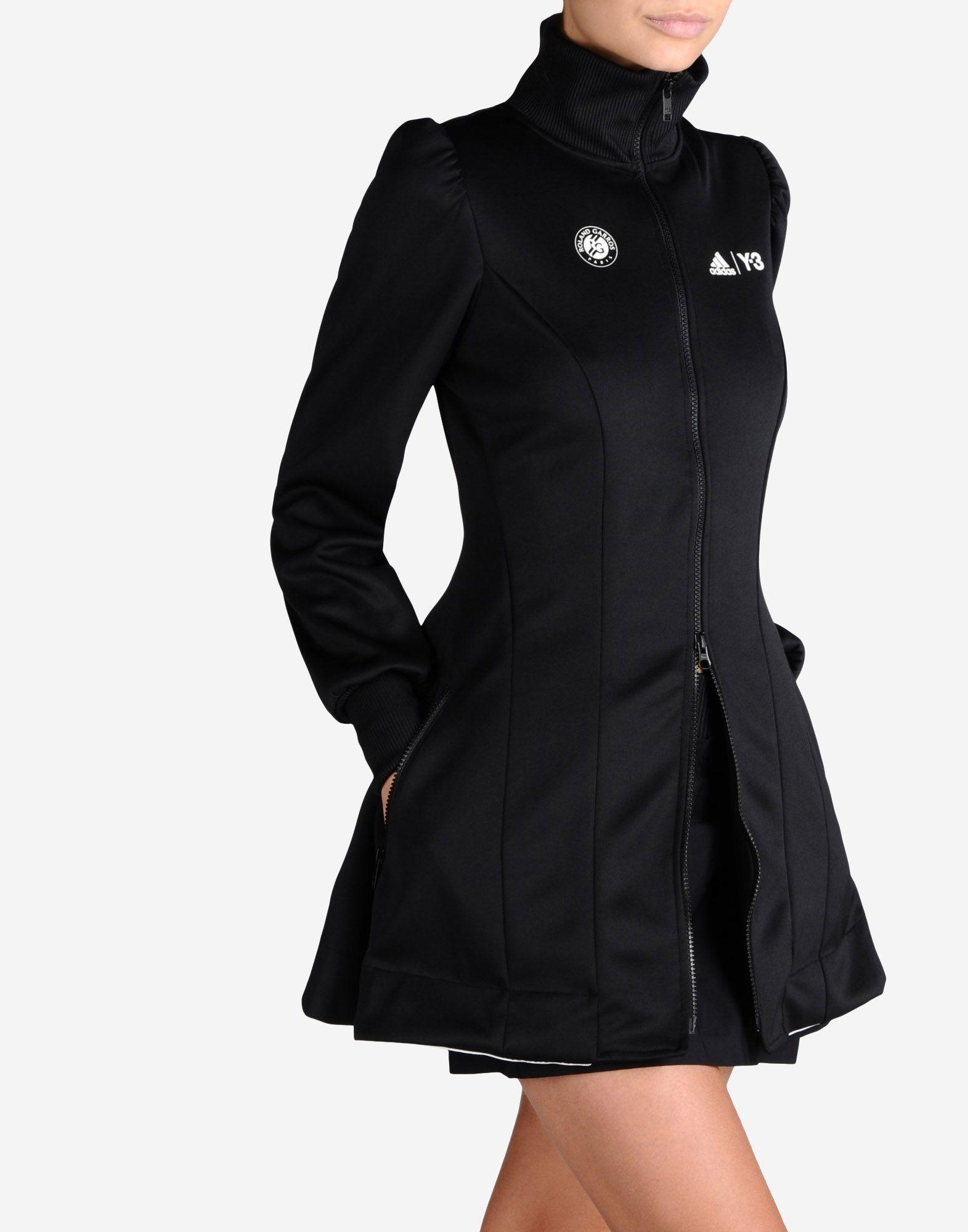 0dd63a5354e62 ... Y-3 Roland Garros Y-3 Premium Jacket Track top Woman ...