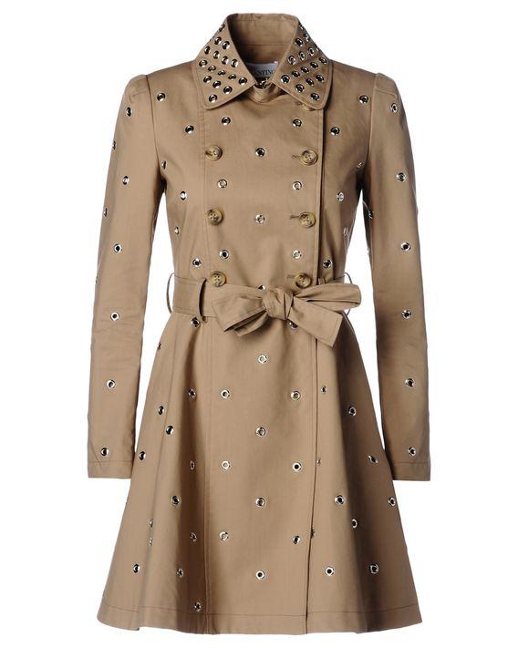 f83e930e672c REDValentino Grommet Mackintosh Trench Coat - Trench for Women ...