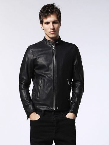DIESEL Leather jackets U L-ROSHI f