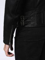 DIESEL L-GIBSON-1 Leather jackets U c