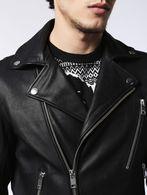 DIESEL L-GIBSON-1 Leather jackets U d