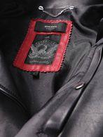 DIESEL L-GIBSON-1 Leather jackets U g