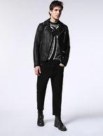 DIESEL L-GIBSON-1 Leather jackets U r