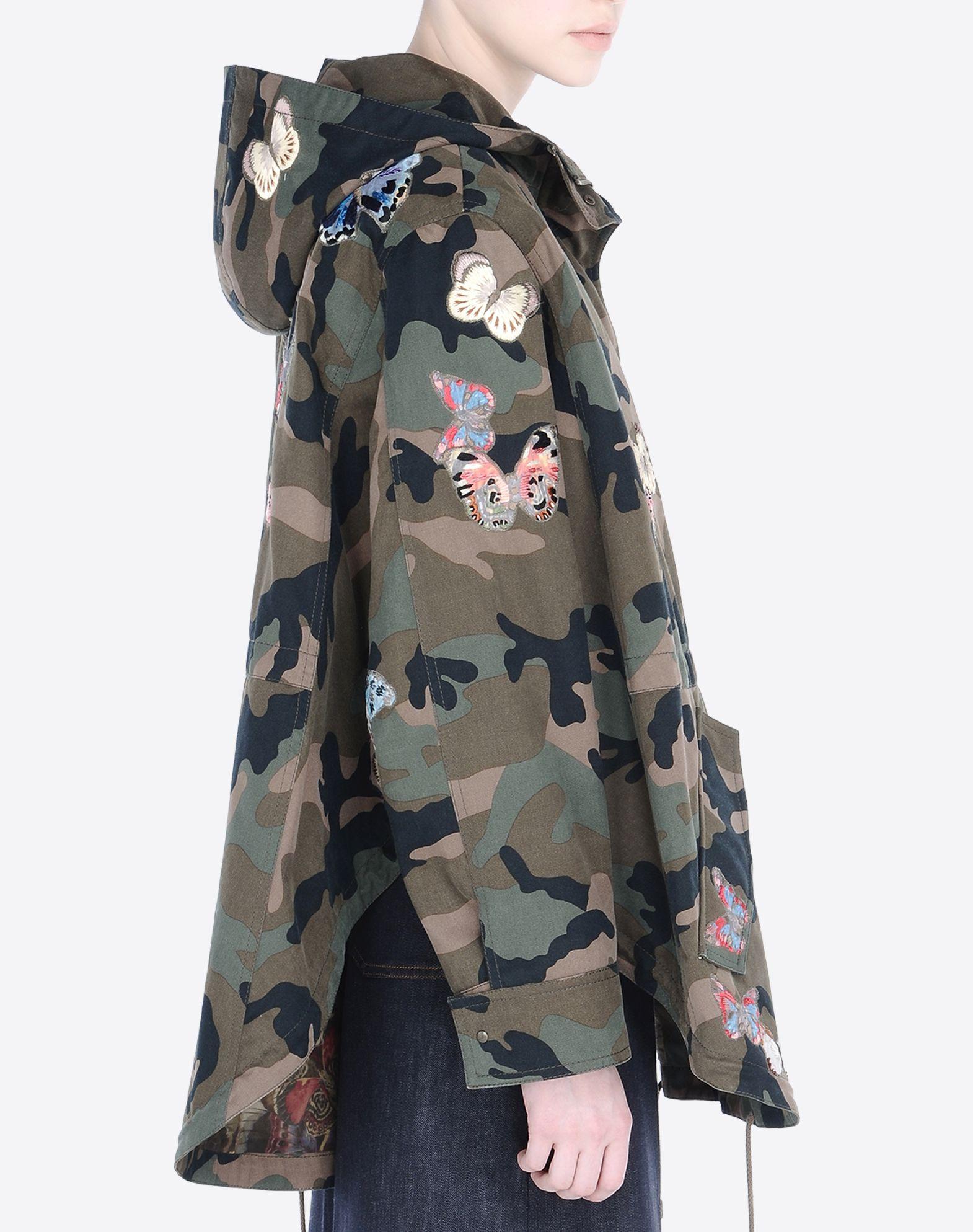 VALENTINO Gabardine Two pockets Snap-buttons, zip  41554721ts