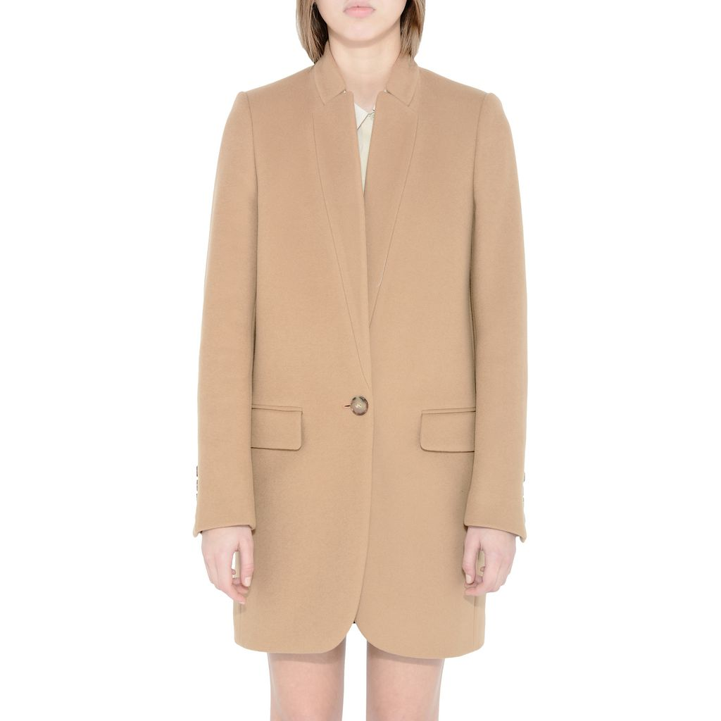 Camel Bryce Coat - STELLA MCCARTNEY