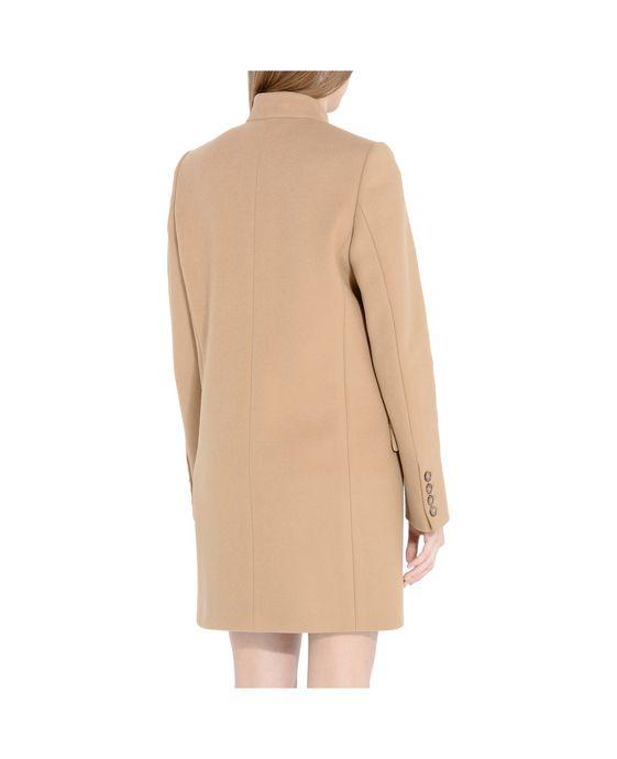 STELLA McCARTNEY Camel Bryce Coat Mid D g