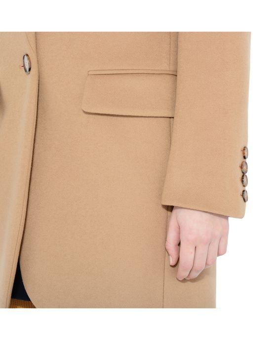 STELLA McCARTNEY Camel Bryce Coat Mid D p