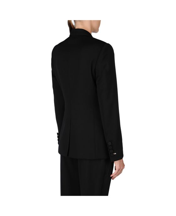 STELLA McCARTNEY Black Tuxedo Ingrid Jacket Blazer D i