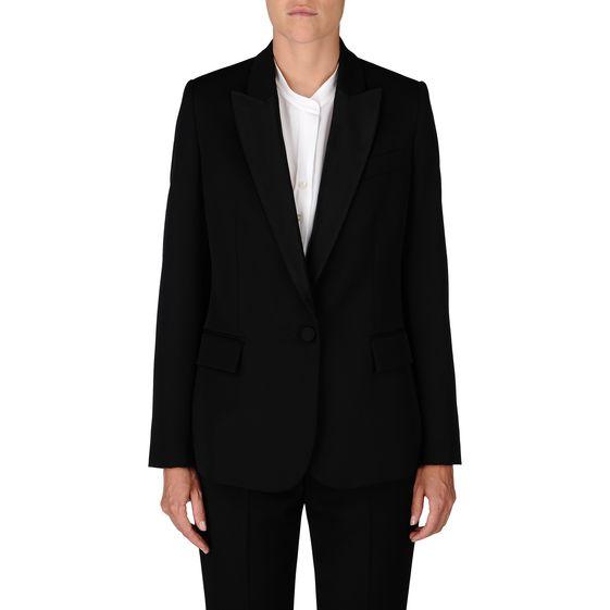 Black Tuxedo Ingrid Jacket