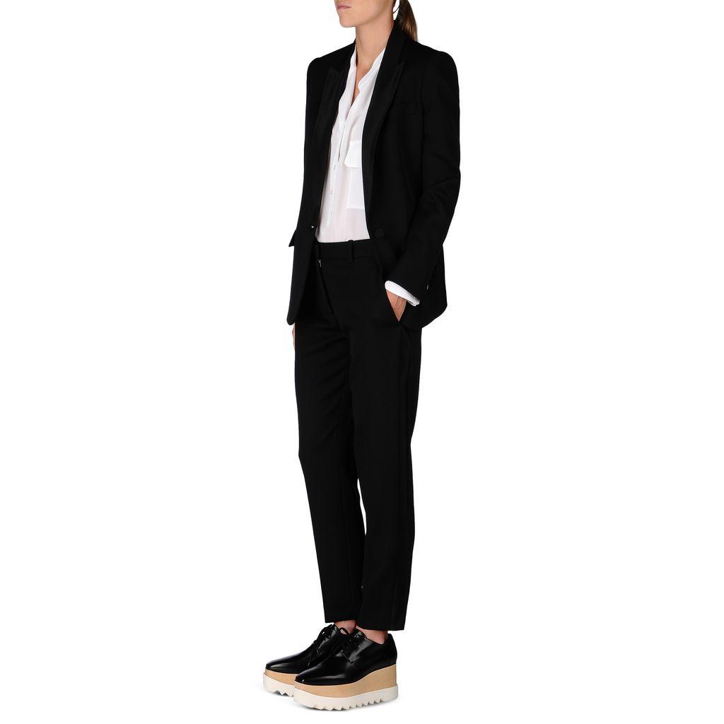 Black Tuxedo Ingrid Jacket - STELLA MCCARTNEY