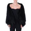 STELLA McCARTNEY Fur Free Fur Lynn stole Long D r