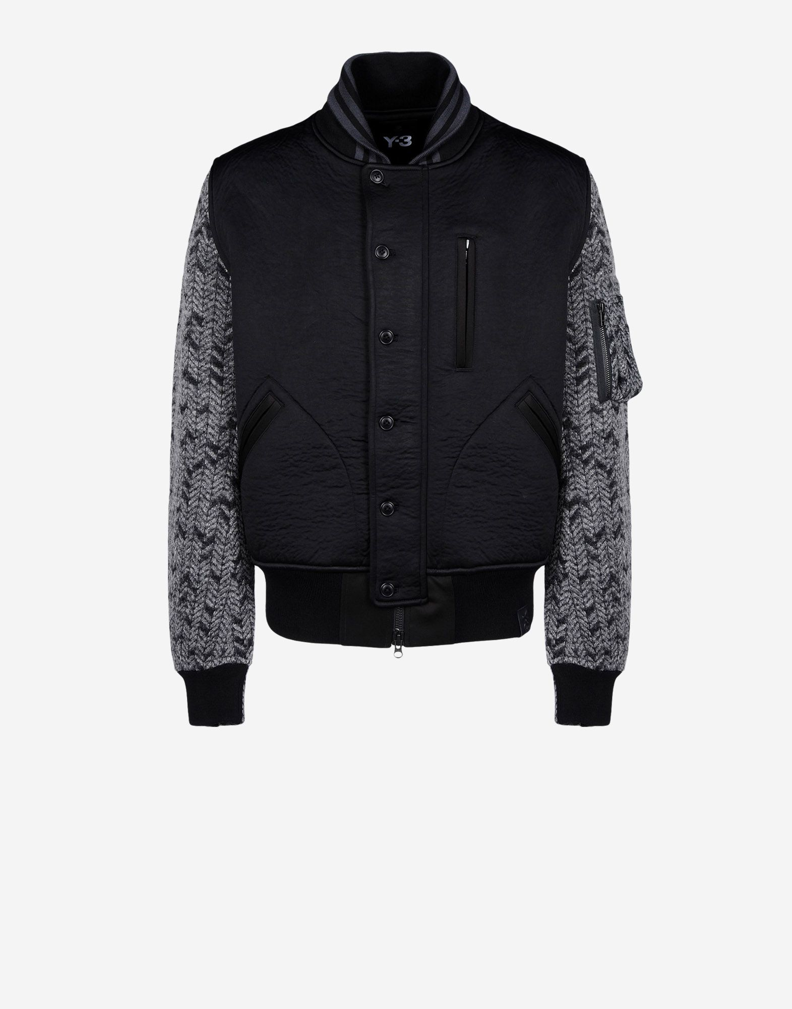Y 3 3L WOOL FLIGHT JACKET Jackets for Men | Adidas Y-3 Official Store