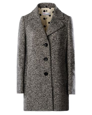 REDValentino JR0CA0E31W9 0NO Coat Woman f