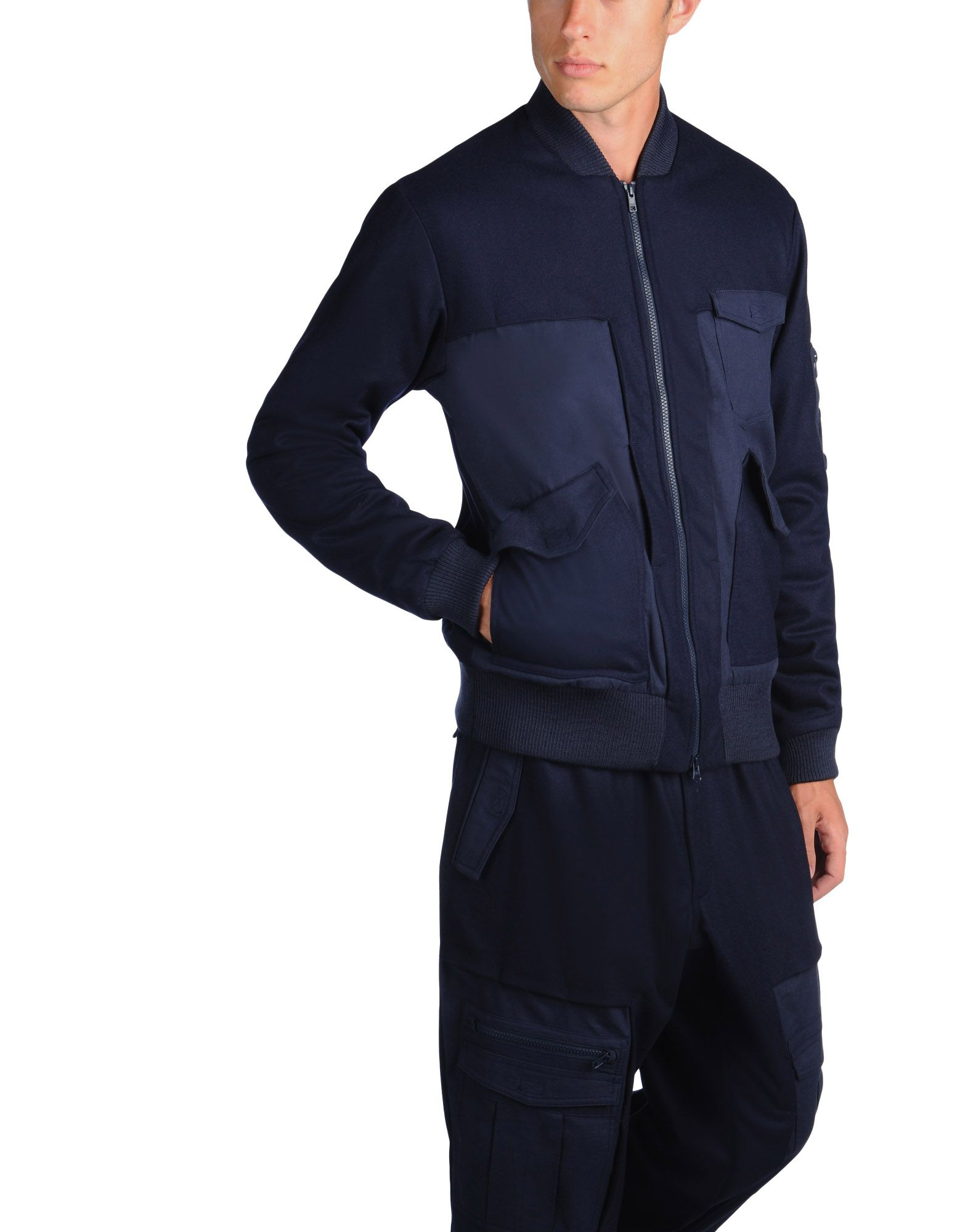 Y-3 Y 3 WOOL FLIGHT JACKET Jackets for Men | Y-3.com