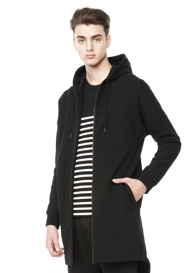 T by ALEXANDER WANG JACKETS AND OUTERWEAR  Men HOODED PARKA