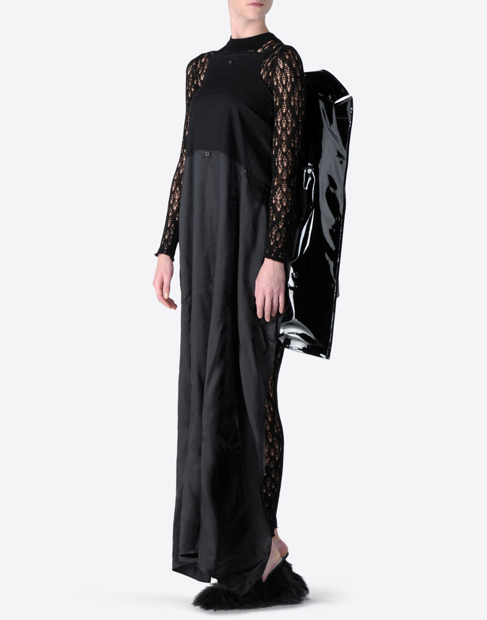MAISON MARGIELA Oversized vinyl jacket Raincoat Woman a