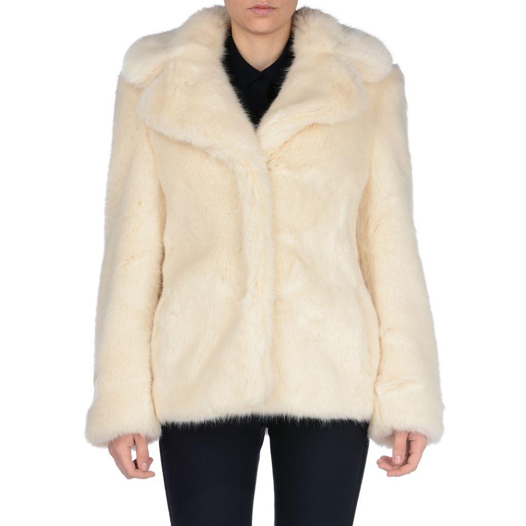 Fur Free Fur Dan Coat - STELLA MCCARTNEY