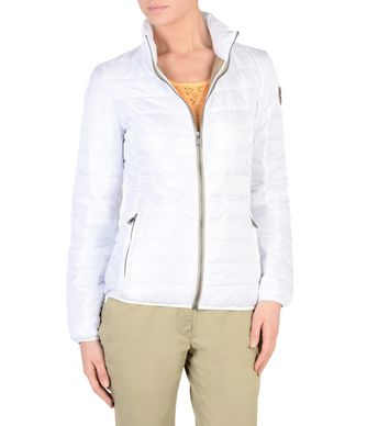 NAPAPIJRI ACALMAR WOMAN WOMAN PADDED JACKET,WHITE