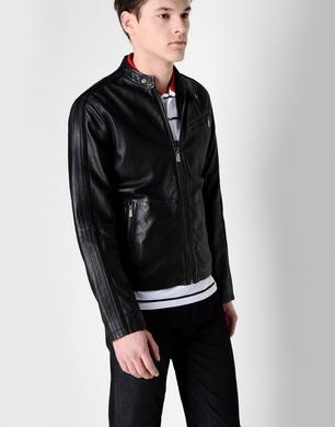 TRU TRUSSARDI - Leather jacket