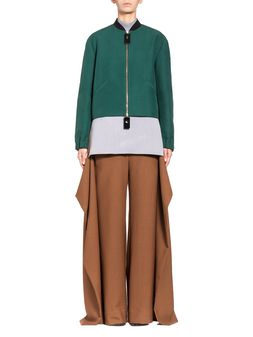 Marni Bomber in cotton cady with resin sliders  Woman