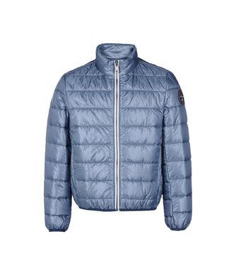 NAPAPIJRI K ACALMAR KID KID SHORT JACKET,SLATE BLUE