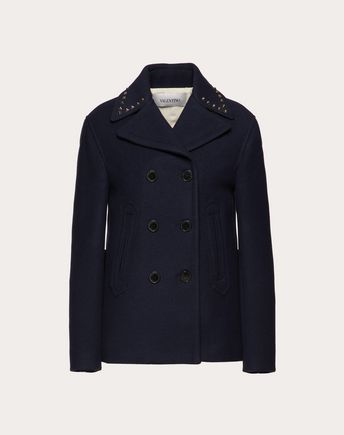 VALENTINO UOMO Trench U ROCKSTUD UNTITLED TRENCH COAT f