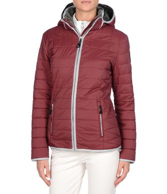 NAPAPIJRI ALESUND WOMAN SHORT JACKET,MAROON