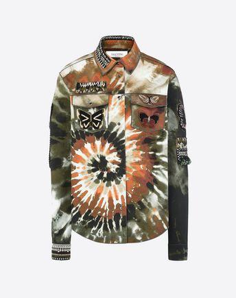 VALENTINO Embroidered jacket in gabardine 41643959BL
