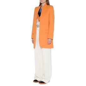 Mantel Bryce in der Farbe Mandarine