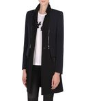 Tailored zip off blazer