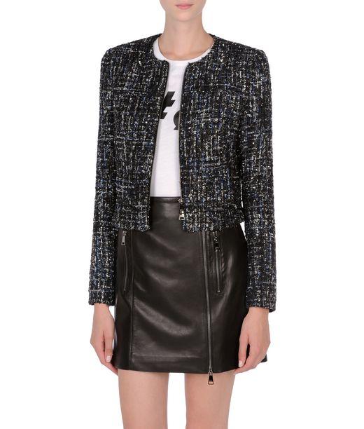 KARL LAGERFELD Sparkle bouclé jacket 12_f