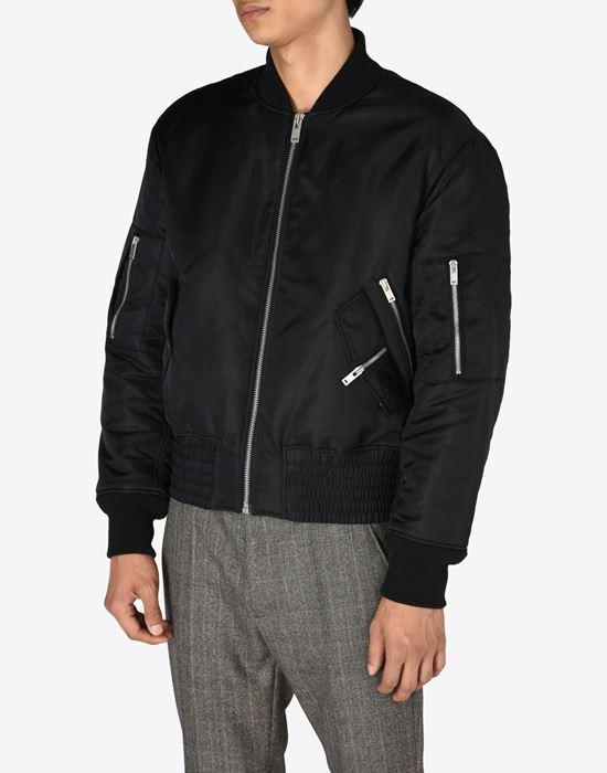 1480a585b Maison Margiela Bomber Jacket With Zip Details Men | Maison Margiela ...