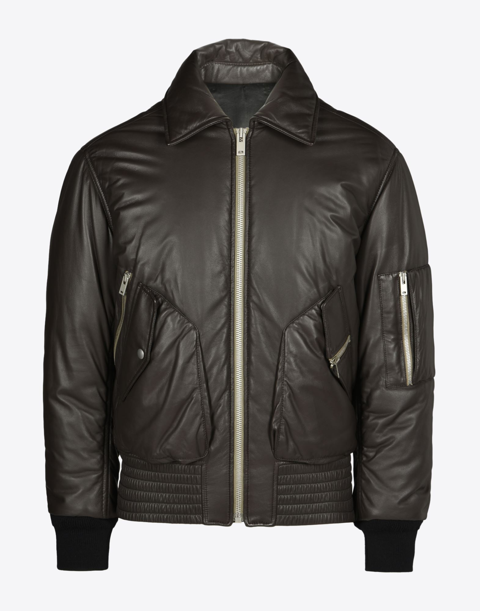 e8bb05d36 Maison Margiela Leather Bomber Jacket Men | Maison Margiela Store