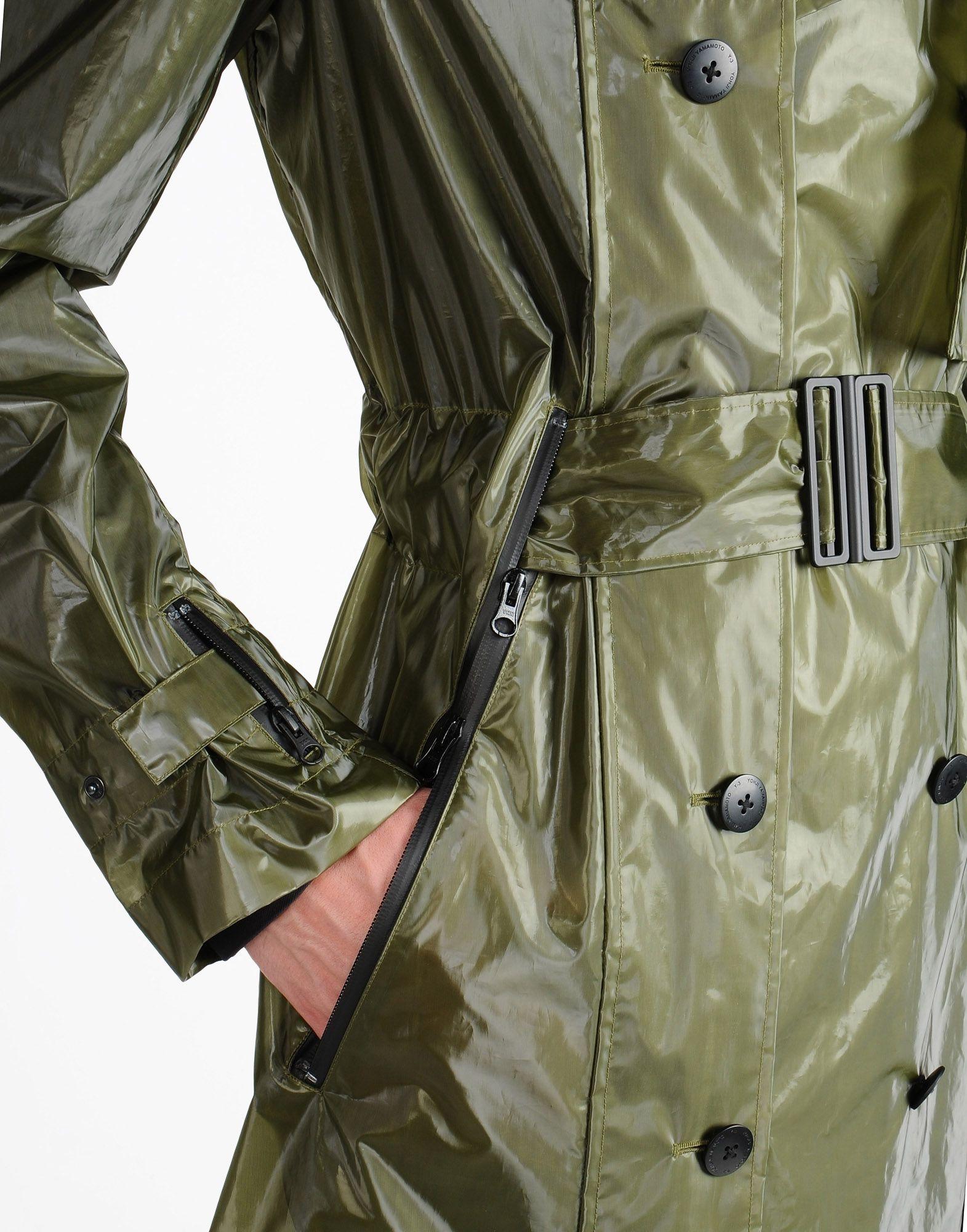Y-3 TRANSLUCENT TECH COAT COATS & JACKETS man Y-3 adidas
