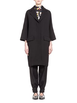 Marni Coat in crepe double face Woman