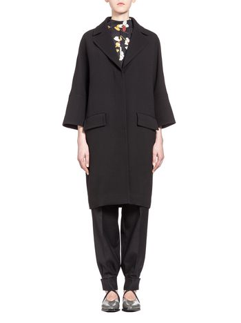 Marni Coat in double-face crepe  Woman